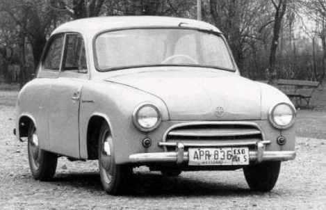 Syrenka+samochod